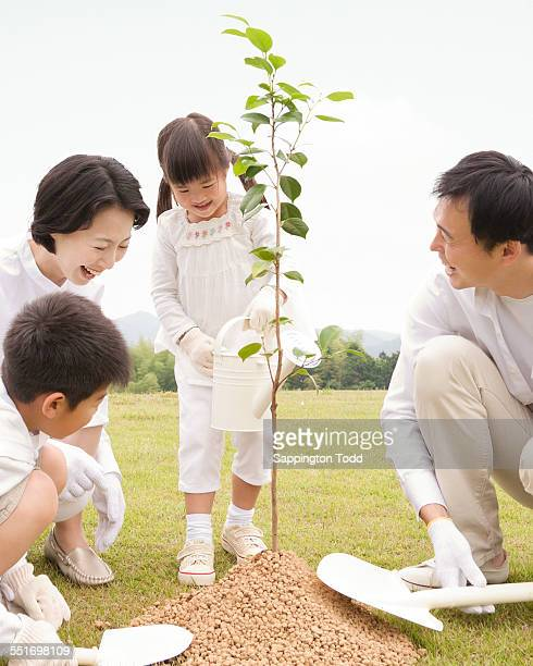 Family Planting Plant