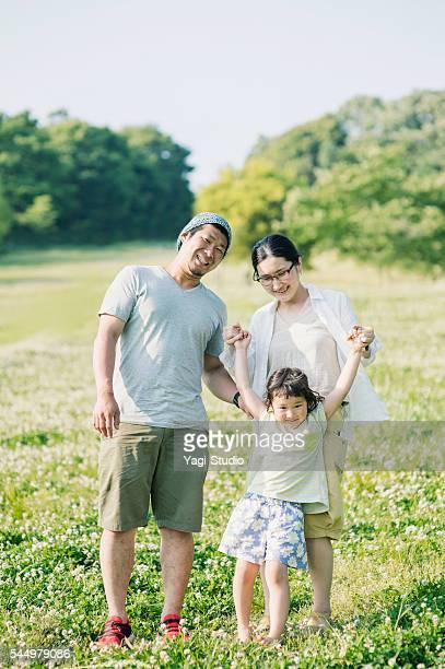 ご家族でご一緒に公園