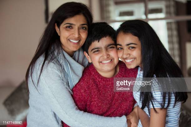 retrato da família - autismo - fotografias e filmes do acervo