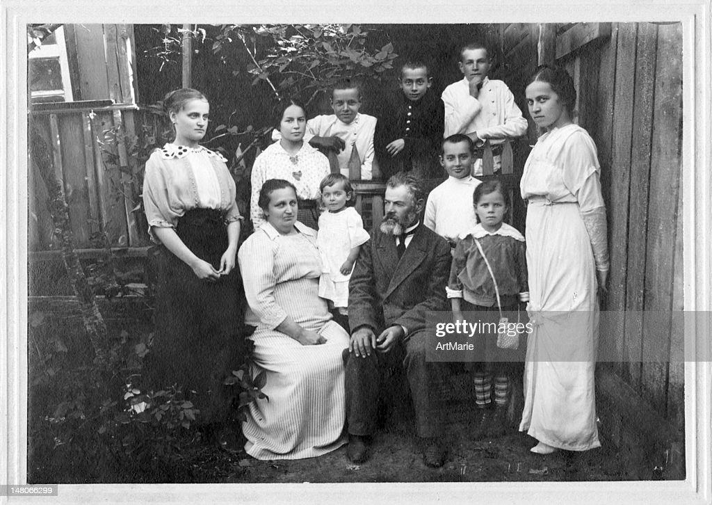 Familien portrait : Stock-Foto