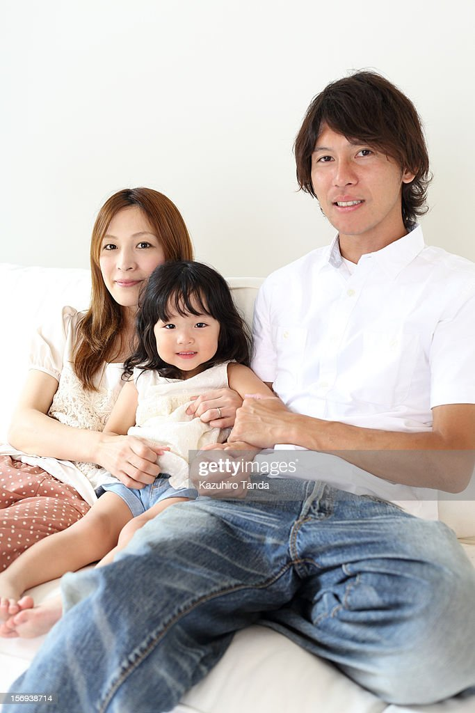 Family portrait : Stock Photo
