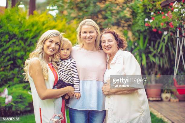 family portrait - great grandmother stock pictures, royalty-free photos & images