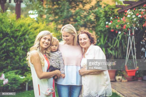 family portrait - mother's day stock pictures, royalty-free photos & images