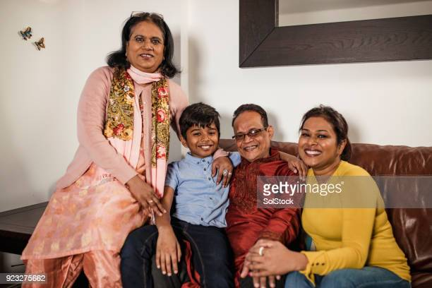 family portrait - bangladesh mother stock pictures, royalty-free photos & images