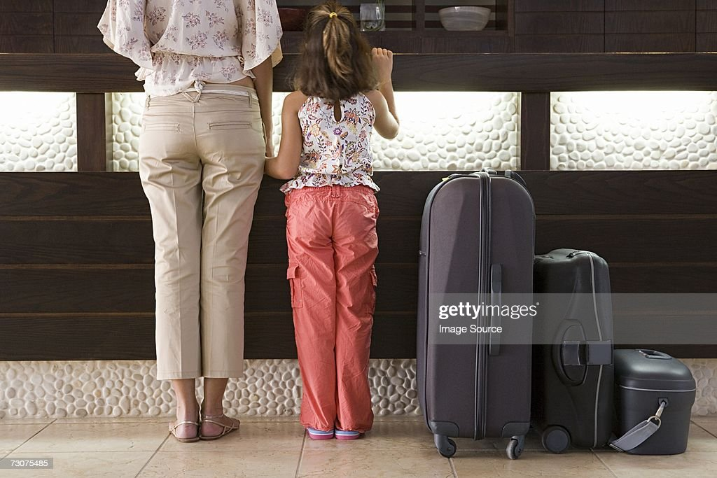 Family Resort Holiday : Stock Photo