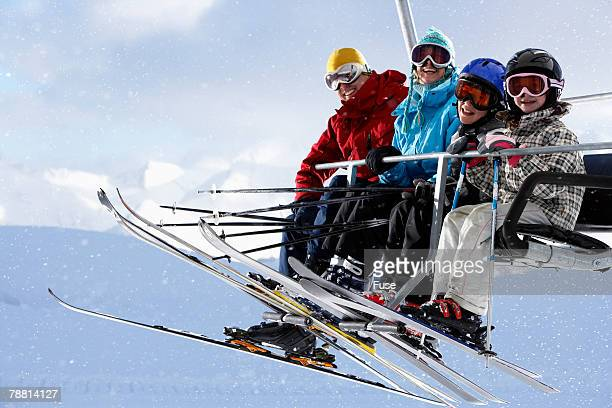 Family Riding Chair Lift