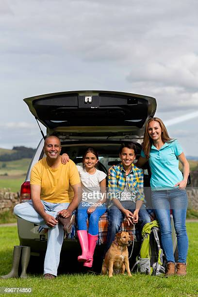 Family Road Trip to the Countryside