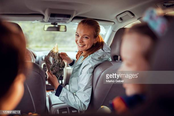 family roadtrip - car stock pictures, royalty-free photos & images