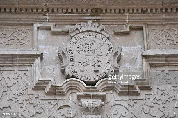 family seal at torre tagle palace in lima, peru - markus daniel stock pictures, royalty-free photos & images