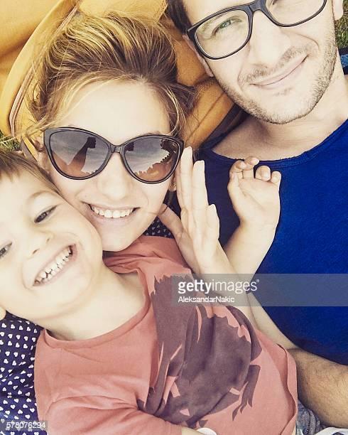 Familie selfie
