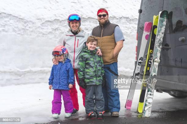家族のスキー旅行!