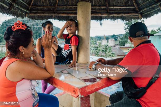 family socializing outdoors - sunshade stock pictures, royalty-free photos & images