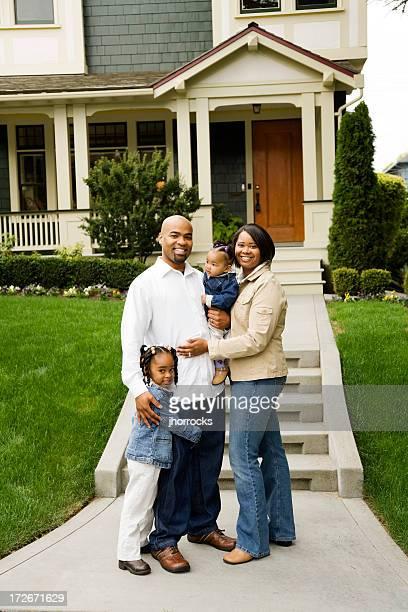 ご家族の前でハウス