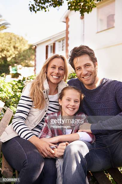 family time at home - family with one child stock pictures, royalty-free photos & images