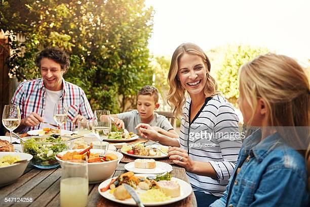 Zeit für die Familie ist die beste Zeit