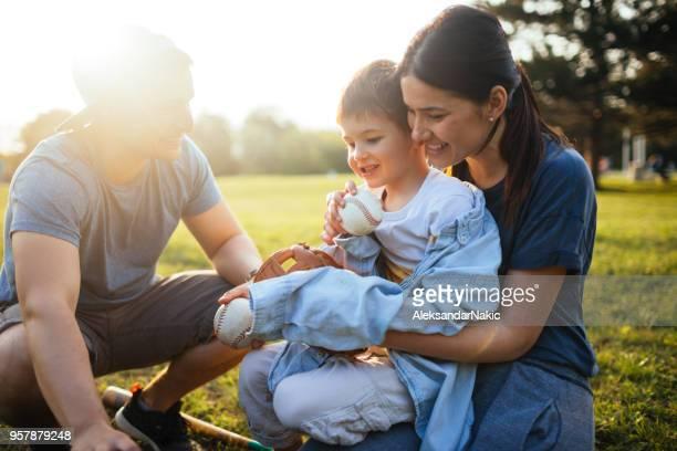 Familie Zeit im Freien