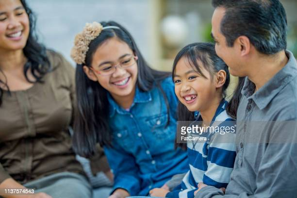 family time - filipino culture stock pictures, royalty-free photos & images
