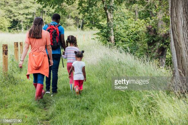family time - wellington boot stock pictures, royalty-free photos & images