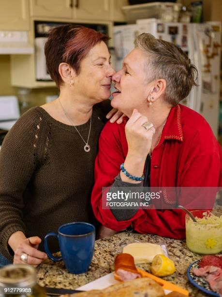 Lesbian mature video