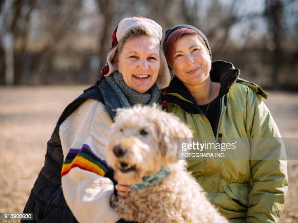 lgbtq family time - lesbian stock pictures, royalty-free photos & images