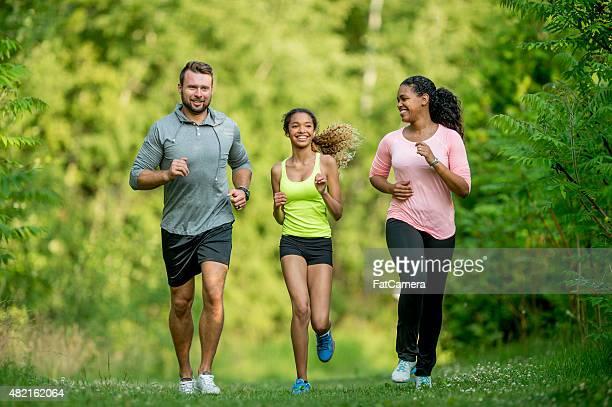 Family Trail Running