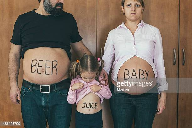 Family tummy portrait