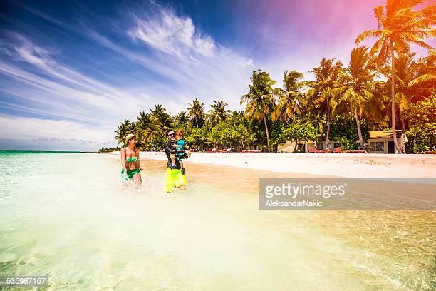Family vacation on Maldives