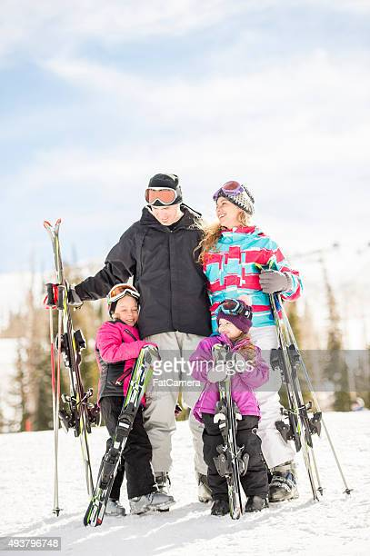 Family Vacation on the Mountain Slopes