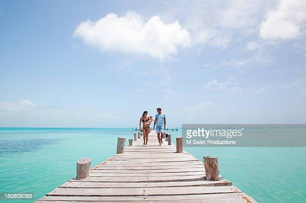 family vacation - cancun stock pictures, royalty-free photos & images
