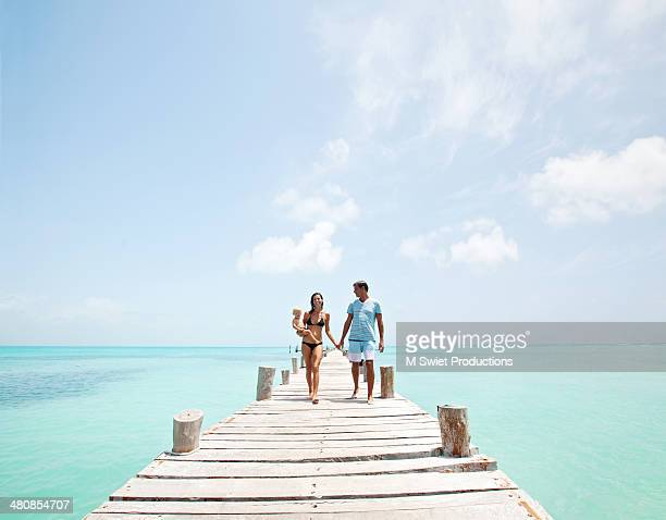 family vacation - mexican and white baby stock photos and pictures