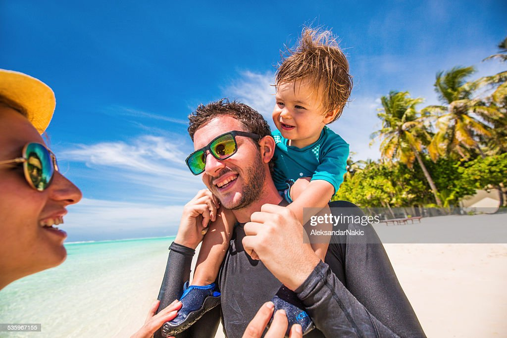 Family vacation : Stock Photo
