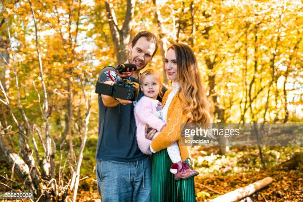 Familie Vlogs Natur im Herbst