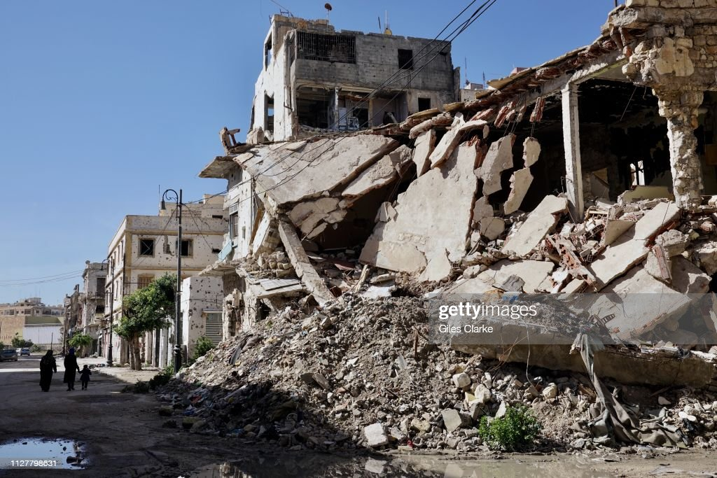 Deprivation And Destruction Remain Widespread In Libya : Nieuwsfoto's