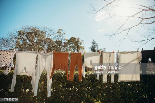 Family Washing on the Line