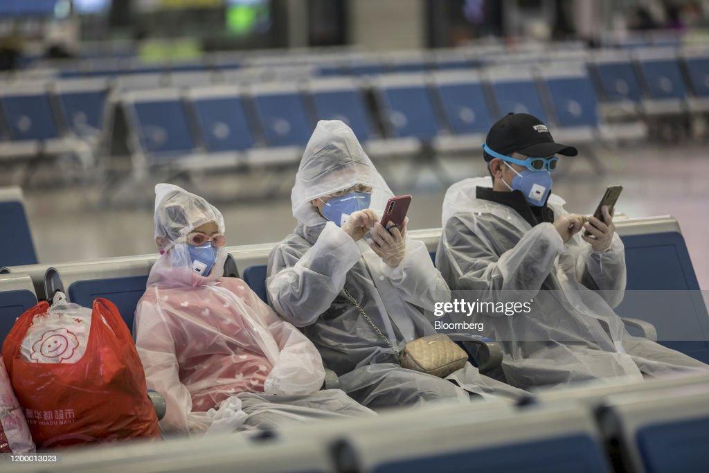 Hangzhou In Lockdown As Virus Impact Hits Economy : News Photo