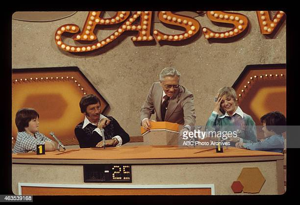 PASSWORD Family Week Coverage Shoot Date February 3 1974 CONTESTANT