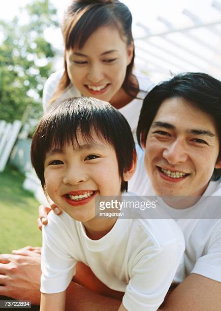 Family with smile