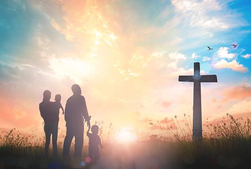 Family worship concept 922742094