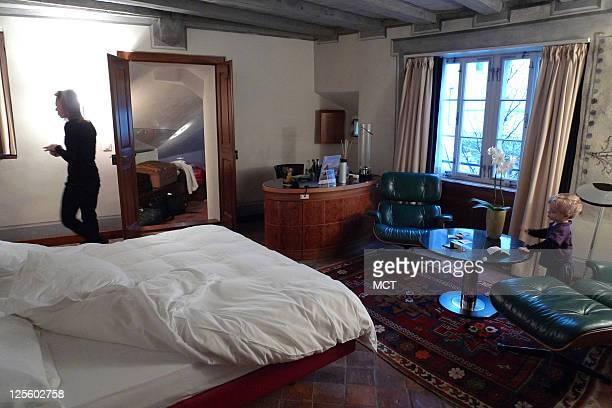 A familyfriendly suite is offered at the Widder Hotel in Zurich Switzerland