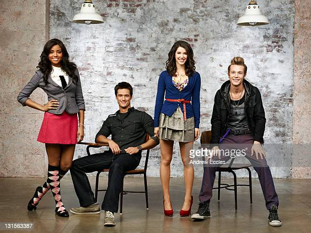 Family's 'Jane By Design' stars Meagan Tandy as Lulu Pope Matthew Atkinson as Nick Fadden Erica Dasher as Jane Quimby and Nick Roux as Billy Nutter