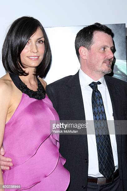 Famke Janssen and Chris Eigeman attend The New York City Premiere of TURN THE RIVER at MoMA on April 20 2008 in New York City
