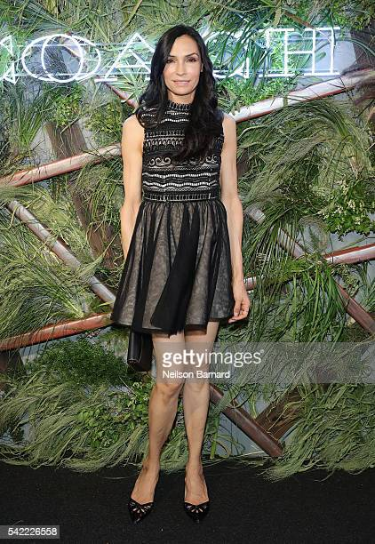 Famke Janssen attends the 2016 Coach And Friends Of The High Line Summer Party at The High Line on June 22 2016 in New York City