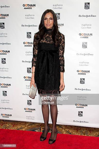 Famke Janssen attends the 22nd annual Gotham Independent Film awards at Cipriani Wall Street on November 26 2012 in New York City