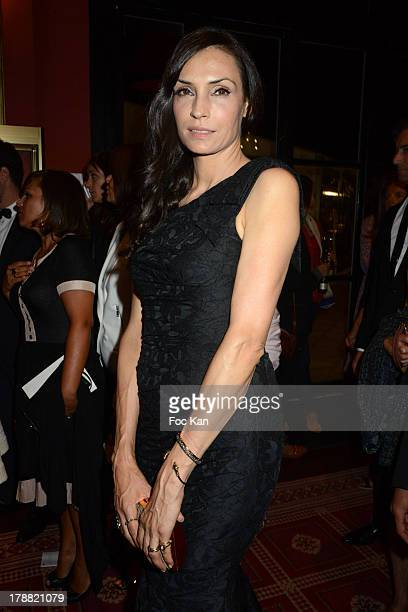Famke Janssen attends the 39th Deauville American Film Festival Opening Party at the Casino Lucien Barriere on August 30 2013 in Deauville France