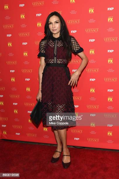Famke Janssen attends 'The Assassination Of Gianni Versace American Crime Story' New York Screening at Metrograph on December 11 2017 in New York City