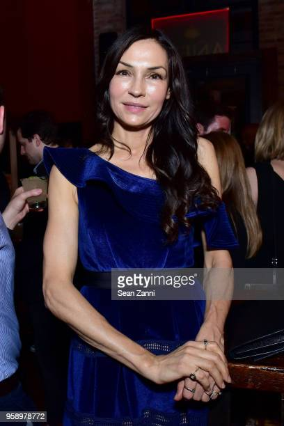 Famke Janssen attends the ICM Partners Upfronts party on May 15 2018 in New York City