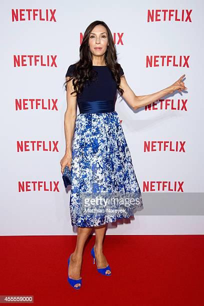 Famke Janssen attends the Netflix pre launch party at Komische Oper on September 16 2014 in Berlin Germany