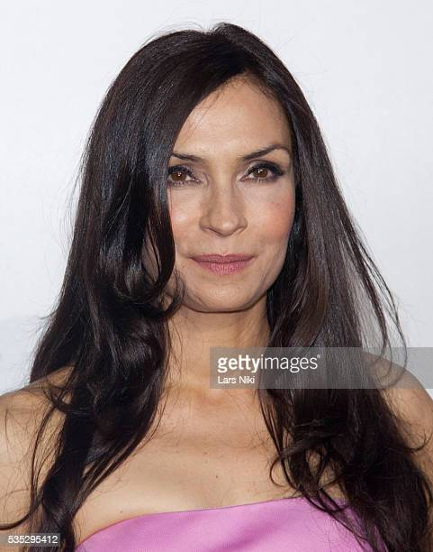 """Famke Janssen attends the """"X-Men: Days of Future Past"""" global premiere at Jacob K. Javits Convention Center in New York City. © LAN"""