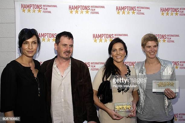 Famke Janssen Chris Eigeman Anastasia Brown and attend GOLDEN STAR FISH AWARDS HAMPTONS INTERNATIONAL FILM FESTIVAL at United Artists Theatres on...