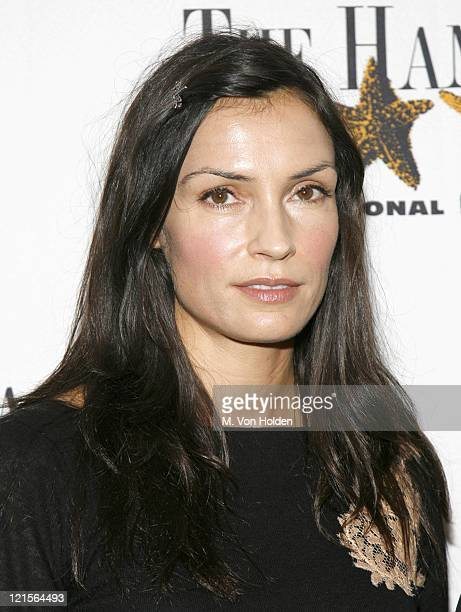 Famke Janssen during 14th Annual Hamptons International Film Festival The Treatment Screening at United Artist Theatre in East Hampton New York...